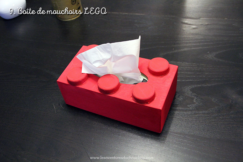 Tissue box Lego