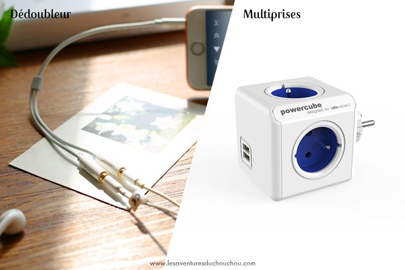 Cube multiprises