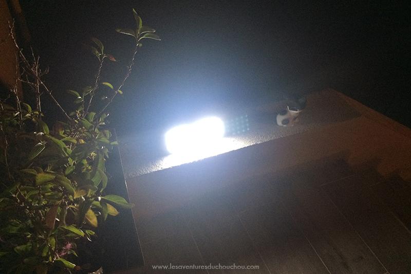 Lumière détecteur mouvement