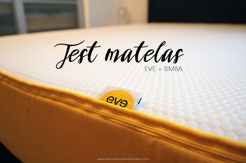 Test Matelas Eve Simba Les Aventures Du Chouchou Cendré