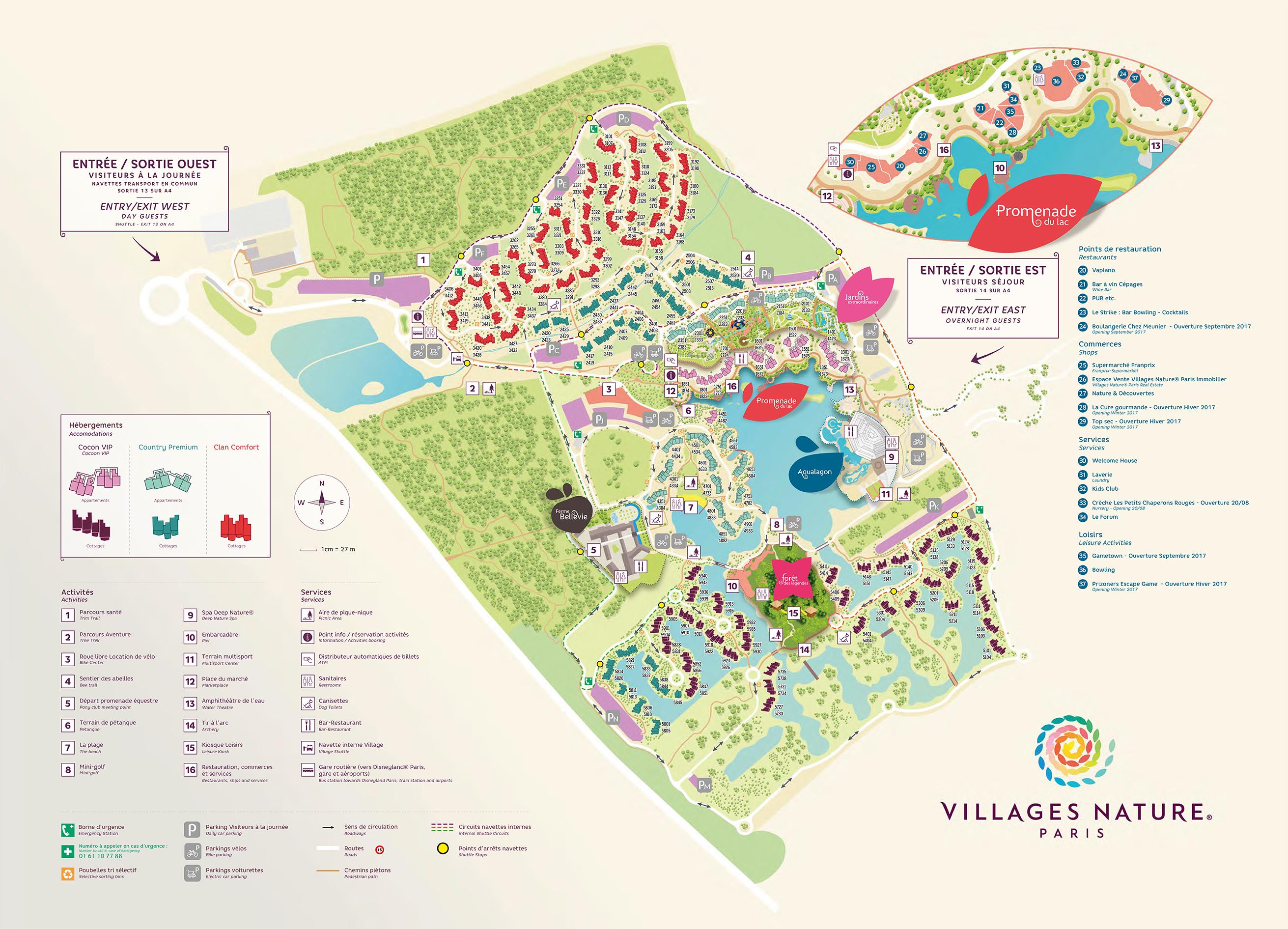 Villages Nature 3 Nuits Dans Le Dernier Center Parcs Les