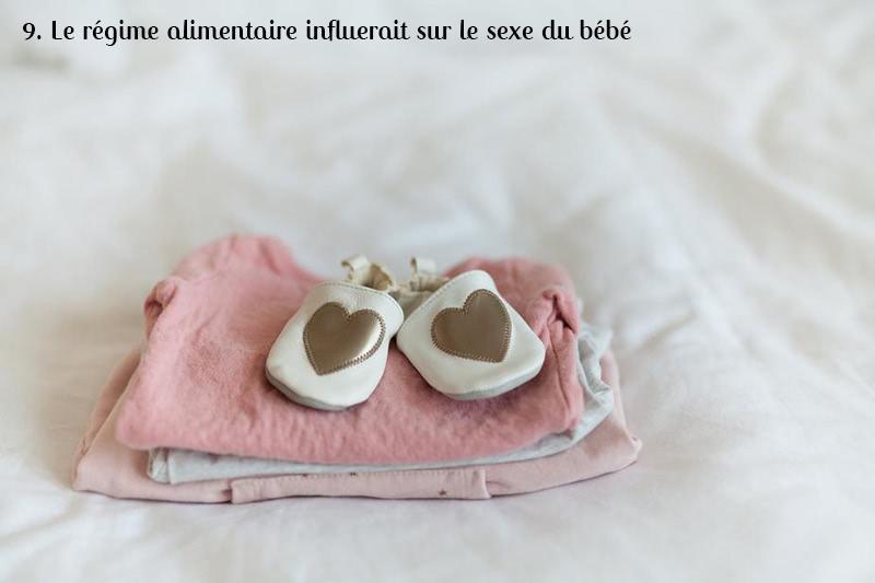 régime sexe enfant