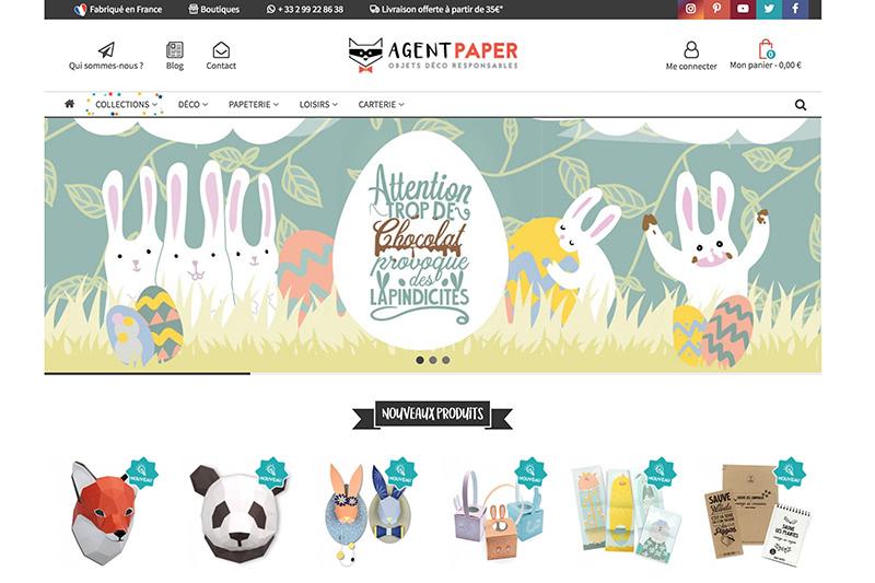 Agent Paper website