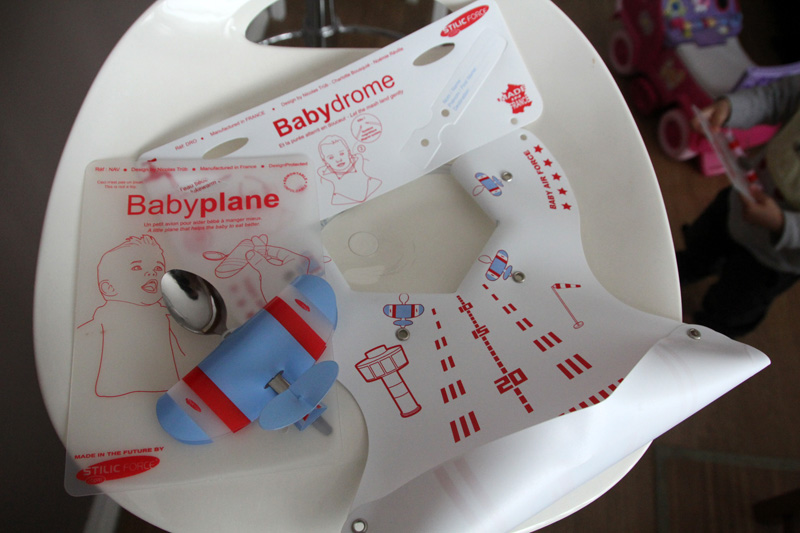 Babyplane bleu et Babydrome