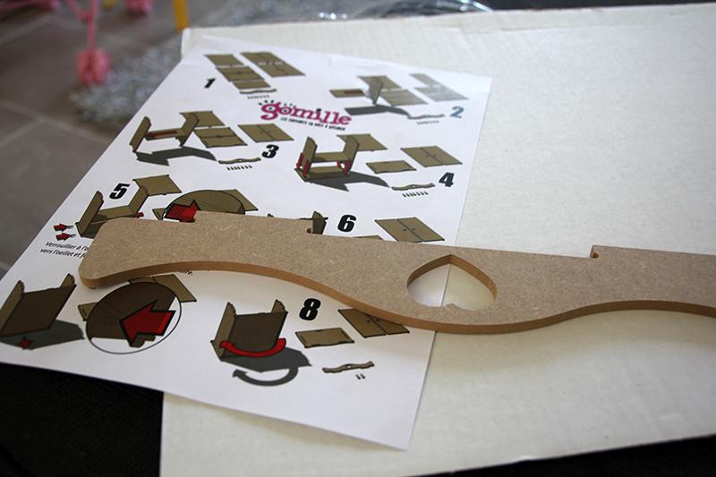 Montage meuble bois