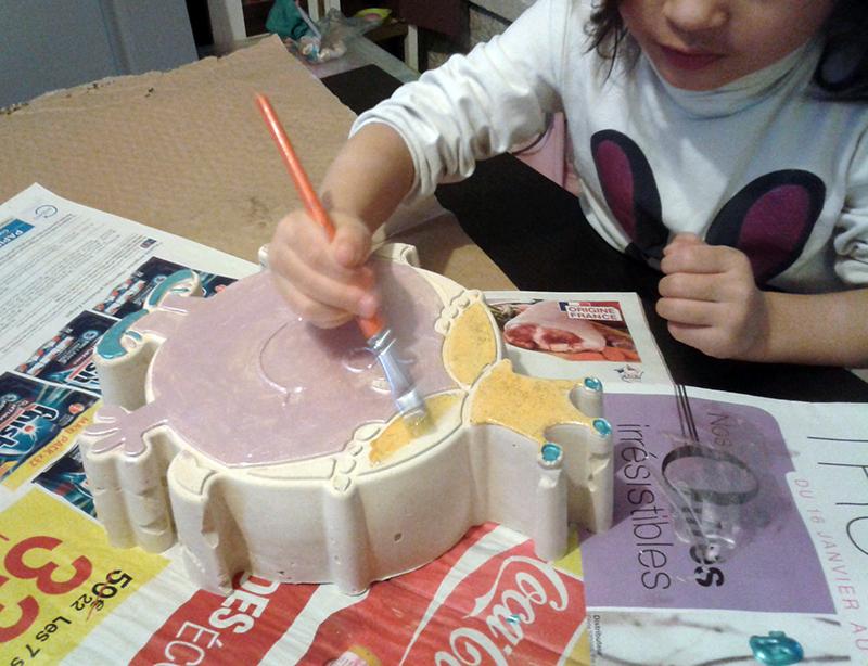 Peinture sur plâtre