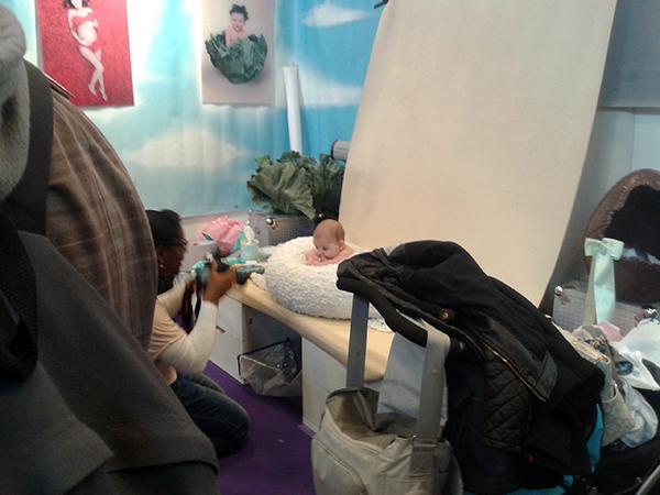 Studio photo bébé