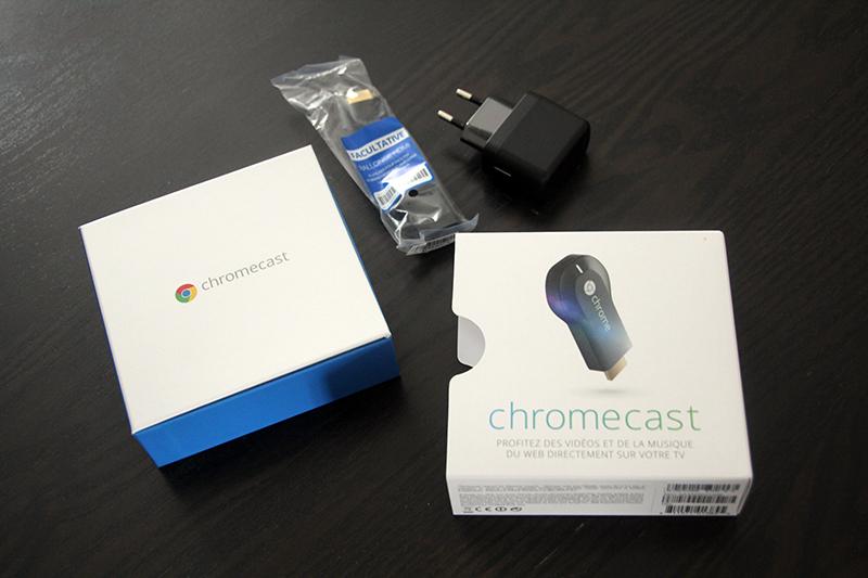 Déballage Chromecast