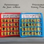 Qui est-ce à imprimer 'Princesses Disney' et 'Jeux vidéos' / Guess who printables