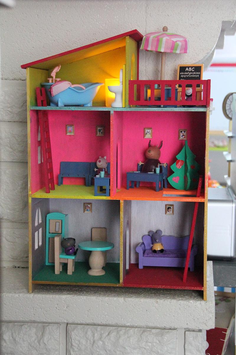 Maison de poupées décoration