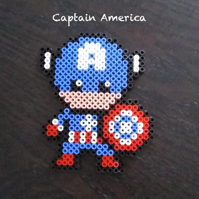 Captain America Bead Set