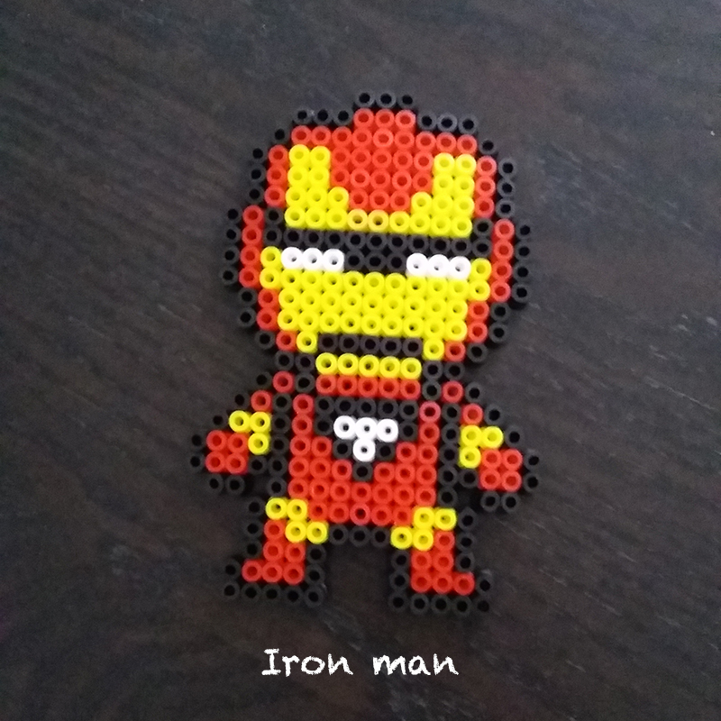 Iron man bead set