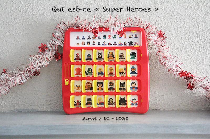 Super heroes Marvel DC Qui est-ce