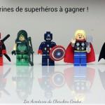 Les super minifigurines de superhéros + Concours