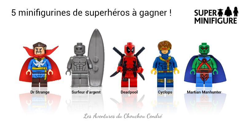 Superheros lego