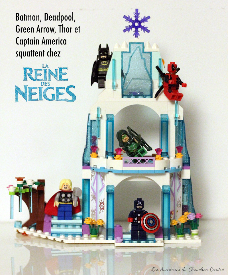 Heros lego frozen