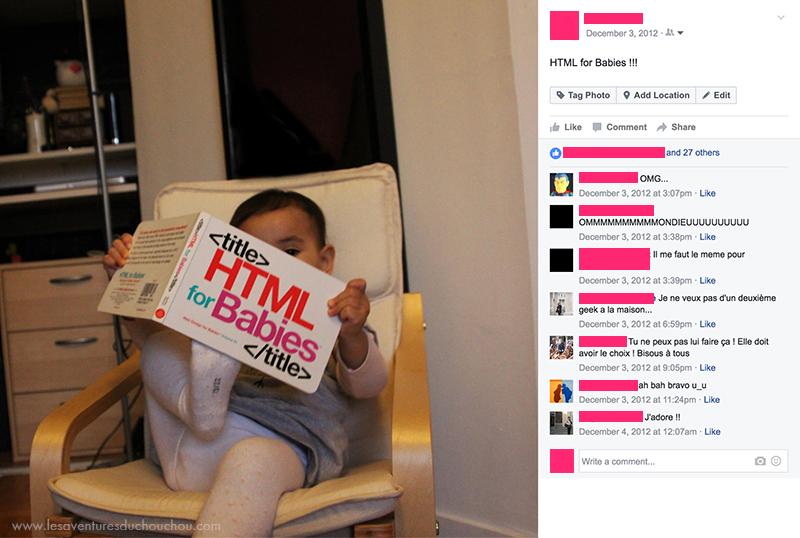 Livre HTML for babies