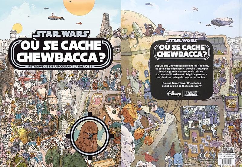 Livre où se cache Chewbacca