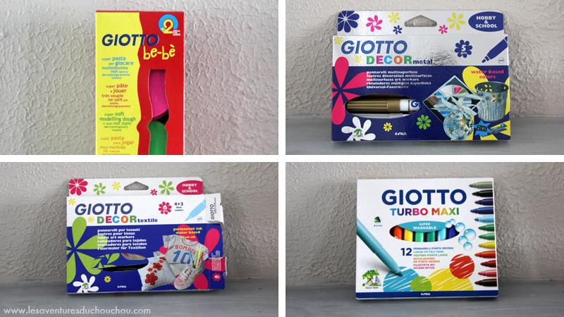 Avis Giotto marques