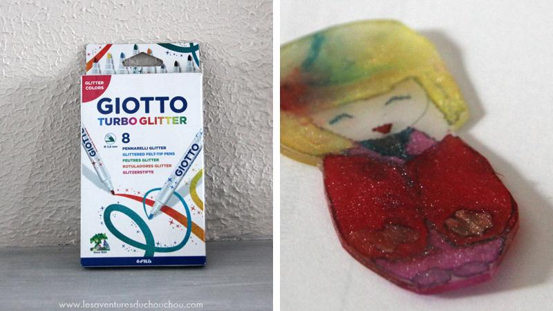 Giotto Turbo Glitter