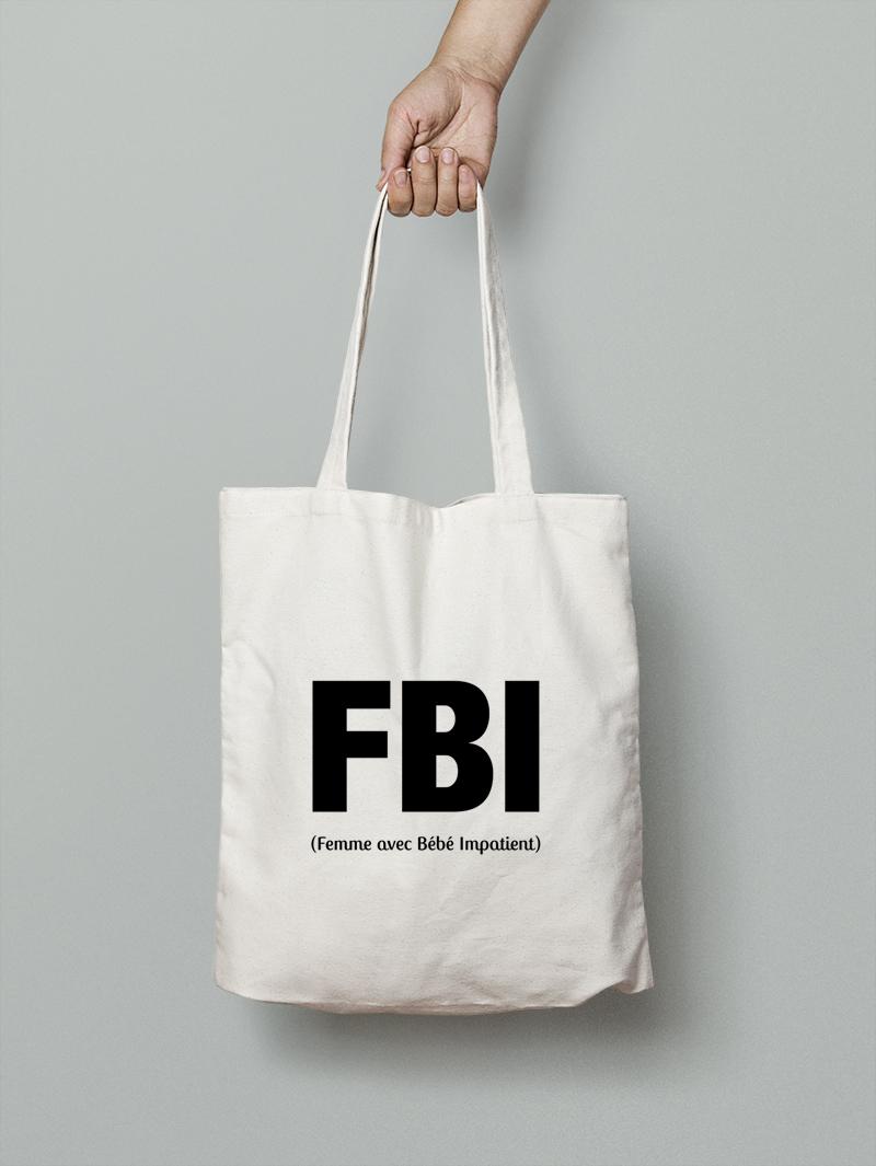 Tote bag FBI