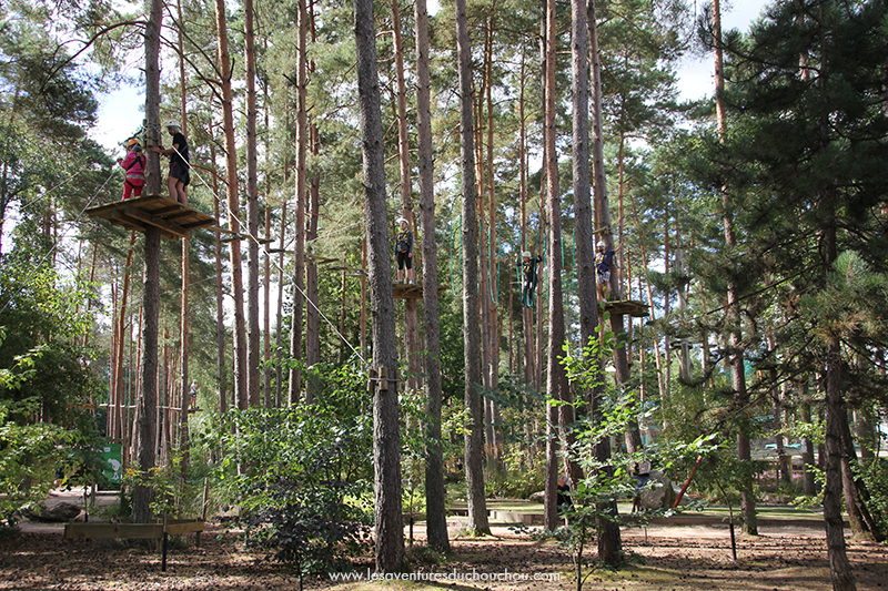 Center parcs accrobranche