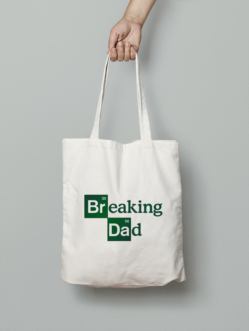 Tote bag Breaking Dad