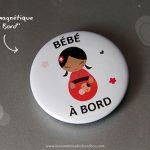 Un badge «BÉBÉ À BORD» et des Tote Bags originaux à personnaliser : Ouverture de ma mini-boutique