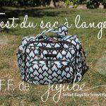 Test du sac à langer B.F.F. de Ju-Ju-Be