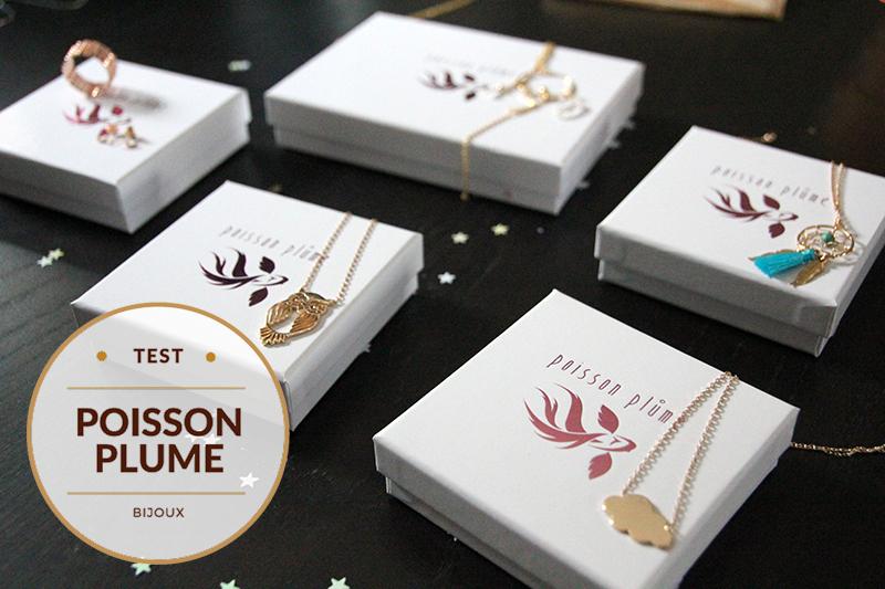 Poisson Plume bijoux