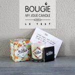 My Jolie Candle : une bougie + un bijou
