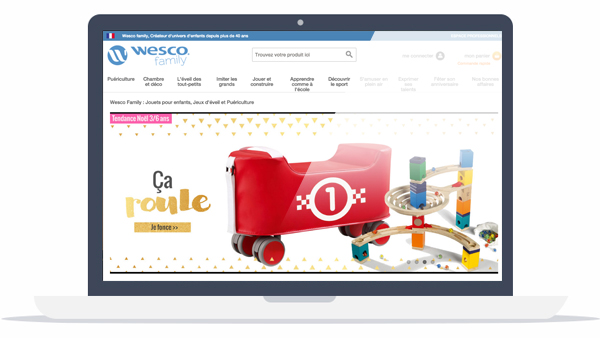 Wesco website