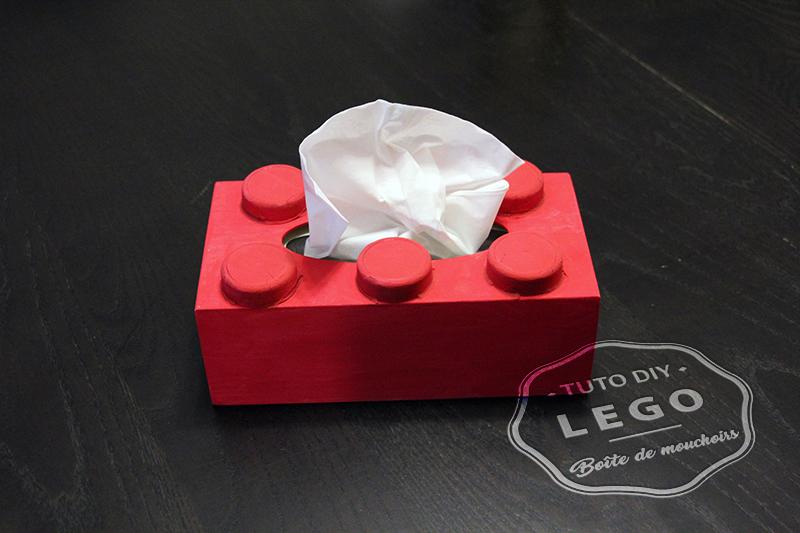 boîte mouchoirs LEGO