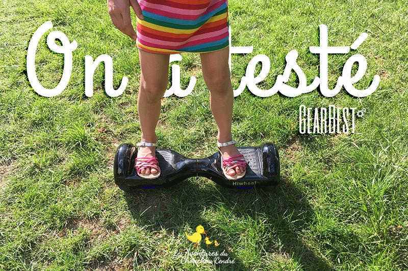 Test hoverboard