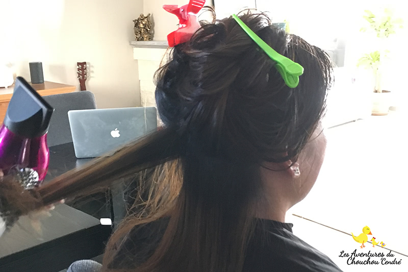 Mèches cheveux