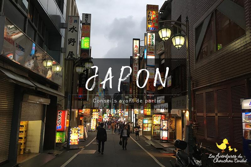 Japon conseils avant de partir