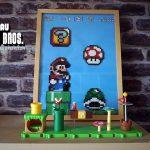 Tableau Mario en perles à repasser
