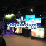 Molang à l'Aquarium de Paris
