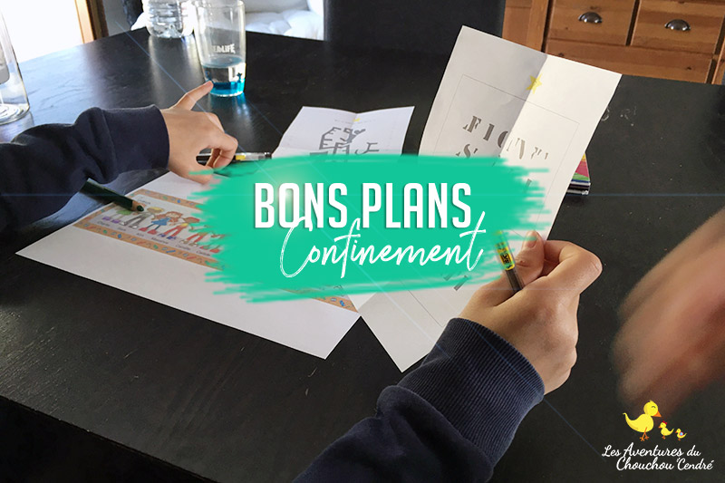 Bons plans confinement