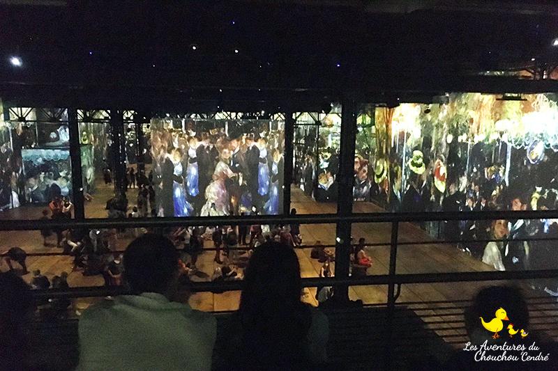 mezzanine atelier des lumières